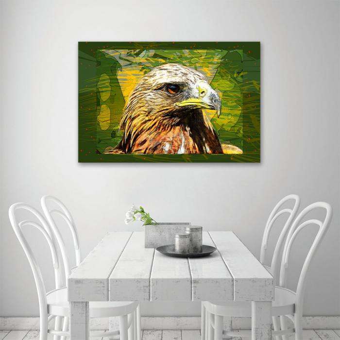 Tablou Canvas - Vultur cromatic 3