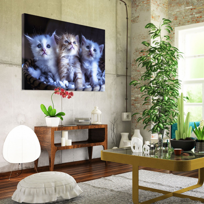 Tablou Canvas -  Pisicei arta digitala 1