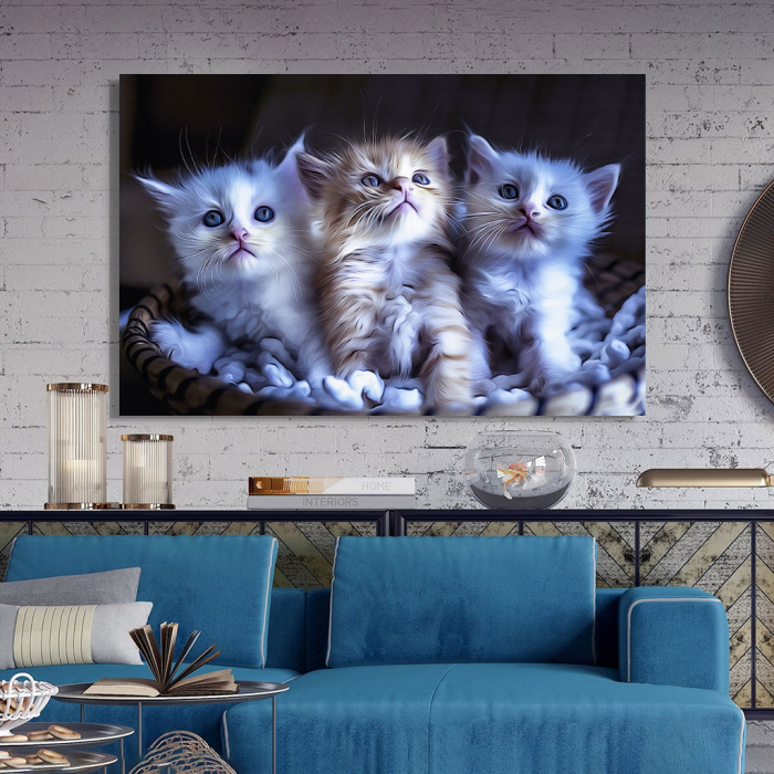 Tablou Canvas -  Pisicei arta digitala 2