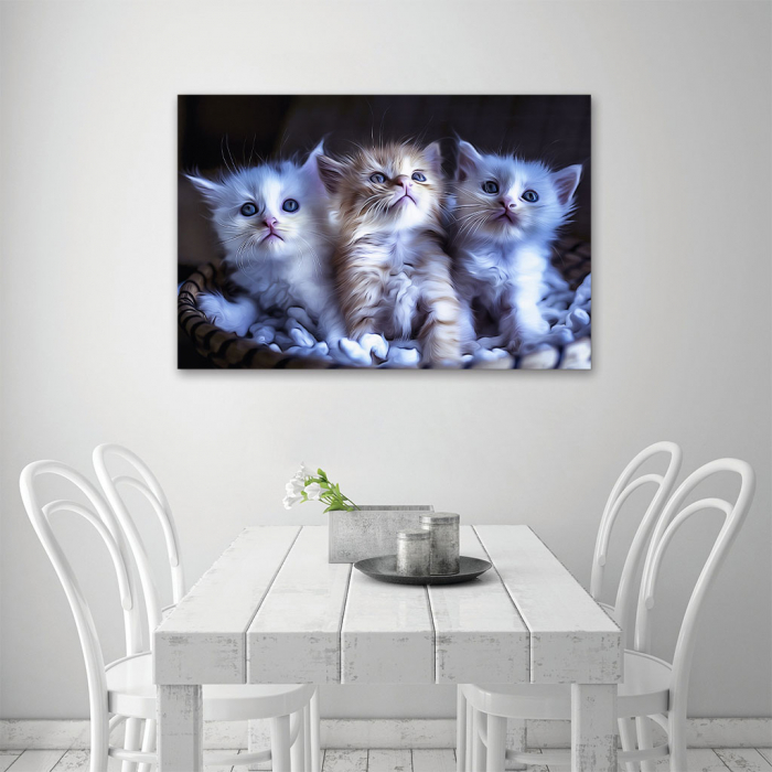 Tablou Canvas -  Pisicei arta digitala 3