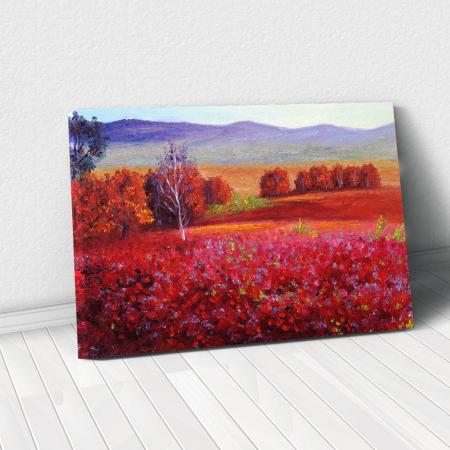 Tablou Canvas - Red Autumn [0]