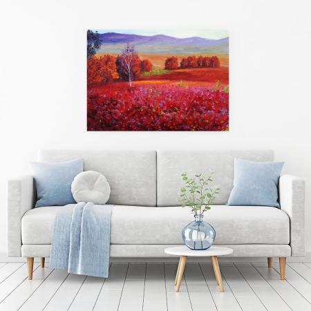 Tablou Canvas - Red Autumn [1]