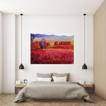 Tablou Canvas - Red Autumn [3]