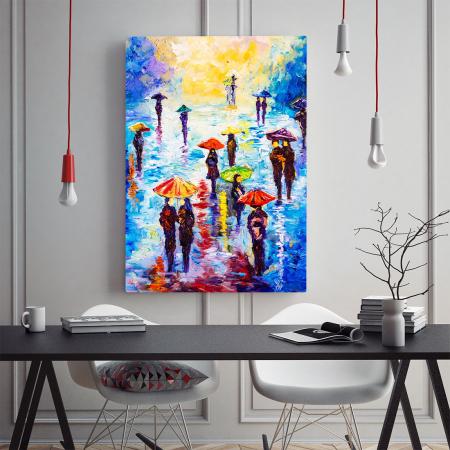 Tablou Canvas - Colour Rainy1
