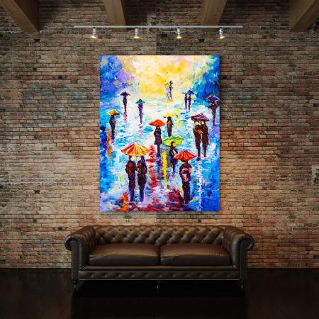 Tablou Canvas - Colour Rainy2