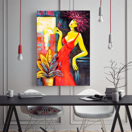 Tablou Canvas -  Passionate Lady [1]