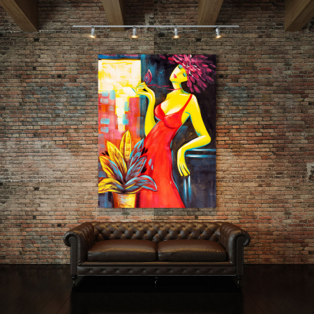 Tablou Canvas -  Passionate Lady [2]