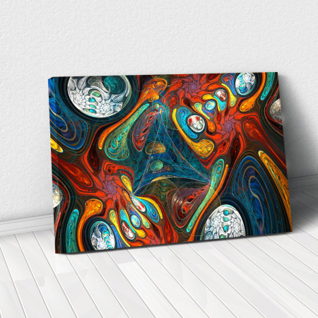 Tablou Canvas - Abstract Shapes0
