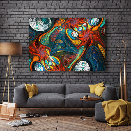 Tablou Canvas - Abstract Shapes2