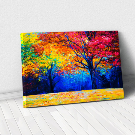 Tablou Canvas - Colourful Autumn0