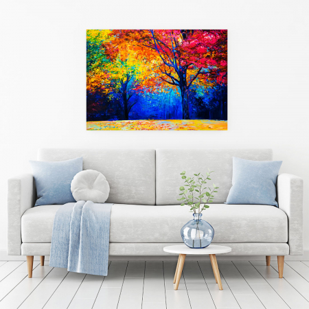 Tablou Canvas - Colourful Autumn1