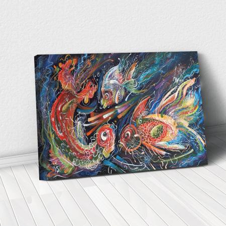 Tablou Canvas - The Sea Trio [0]