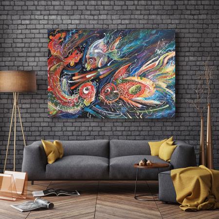 Tablou Canvas - The Sea Trio [2]