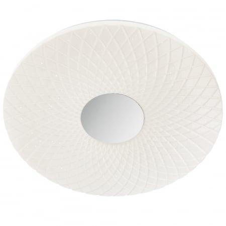 Plafoniera LED ,alb cu efect de sclipire0