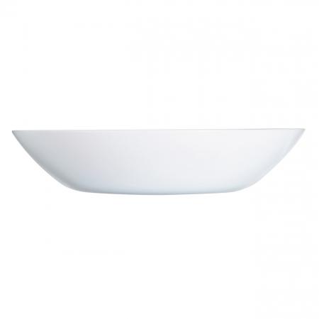 Farfurie albă pentru supă0