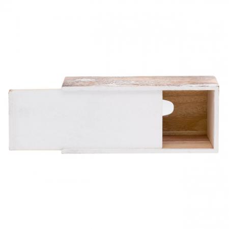 Suport din lemn pentru șervețele.29x14x9 cm [3]