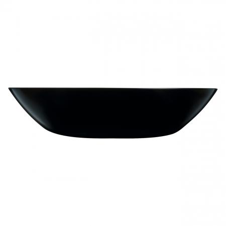 Farfurie neagră pentru supă.20 cm. [0]