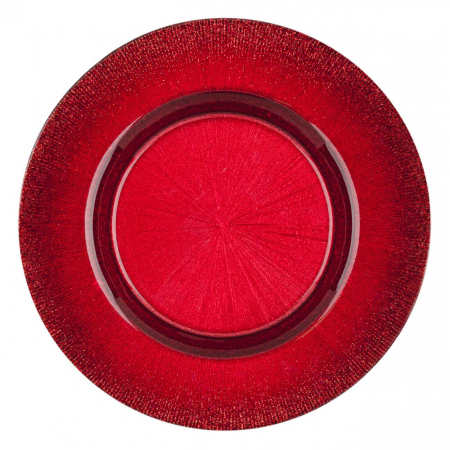 Farfurie pentru fructe roșie.21 cm1