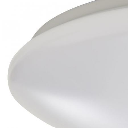 Plafoniera led, cu senzor, 30 x 30 x 8.1 cm, plastic si metal [1]