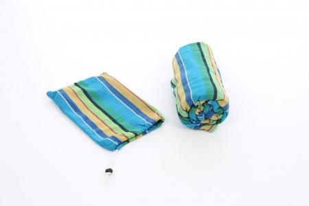 Hamac albastru cu dungi.100 x 200 cm1
