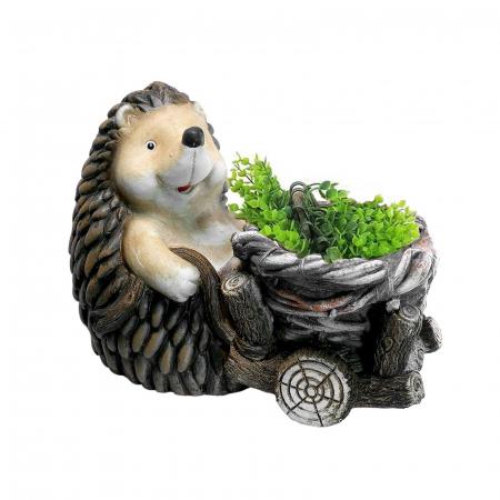 Ghiveci decorativ, ceramică, Arici, 37.5 x 21 x 27.5 cm [1]