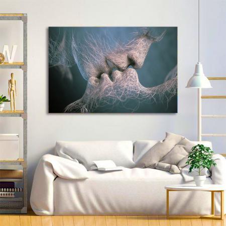 Tablou Canvas - Abstract Kiss1