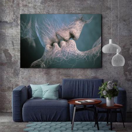 Tablou Canvas - Abstract Kiss2