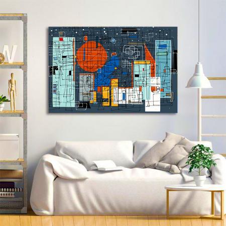 Tablou Canvas - Geometrie Abstracta1