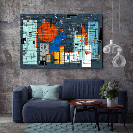 Tablou Canvas - Geometrie Abstracta2