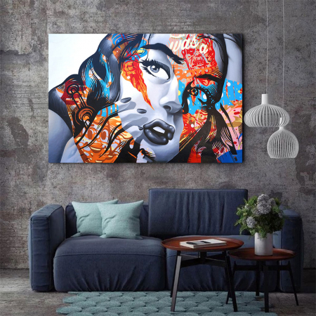 Tablou Canvas - Arta grafica2
