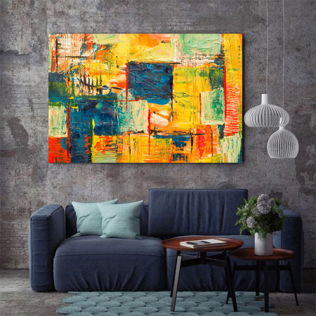 Tablou Canvas - Abstract Paint [2]