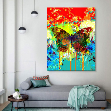 Tablou Canvas - Butterfly effect2
