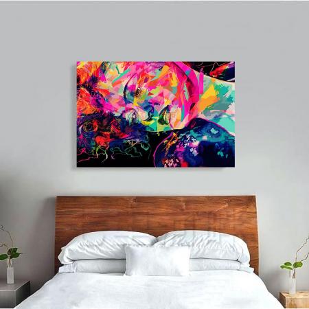 Tablou Canvas - Multicolor art3