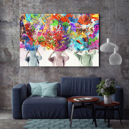 Tablou Canvas - Ideas Release [2]