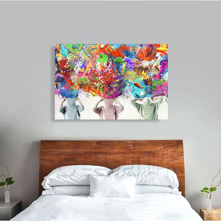 Tablou Canvas - Ideas Release [3]
