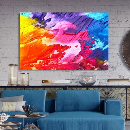 Tablou Canvas - Paleta abstracta [2]