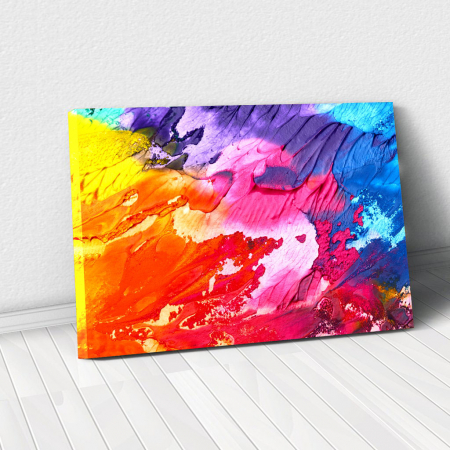 Tablou Canvas - Paleta abstracta [0]