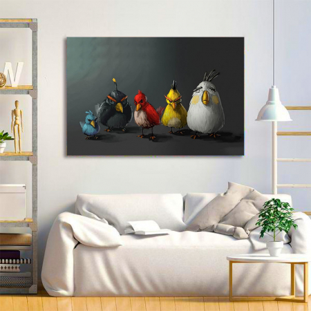 Tablou Canvas - Angry birds1