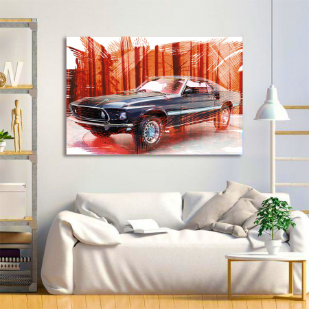 Tablou Canvas - Mustang3