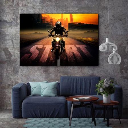 Tablou Canvas - Moto2