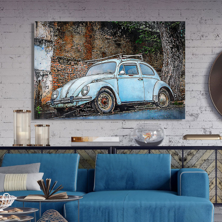 Tablou Canvas - Vw beetle2