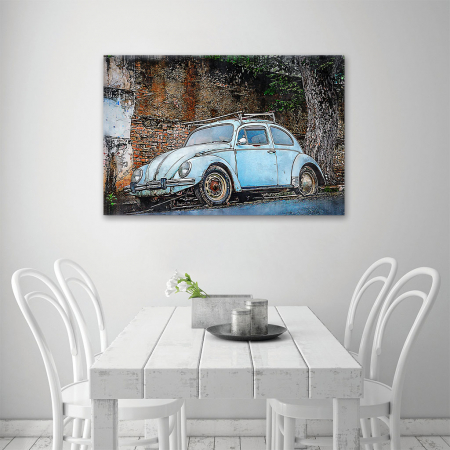 Tablou Canvas - Vw beetle3