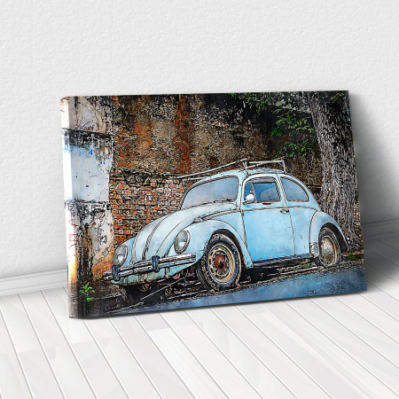 Tablou Canvas - Vw beetle0