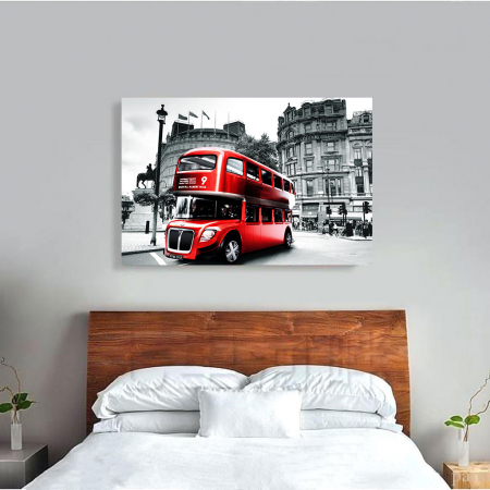 Tablou Canvas - Bus1