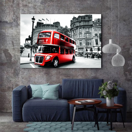 Tablou Canvas - Bus3