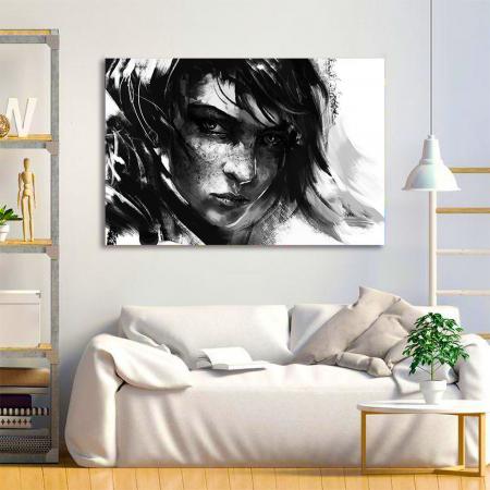Tablou Canvas - Black mood1