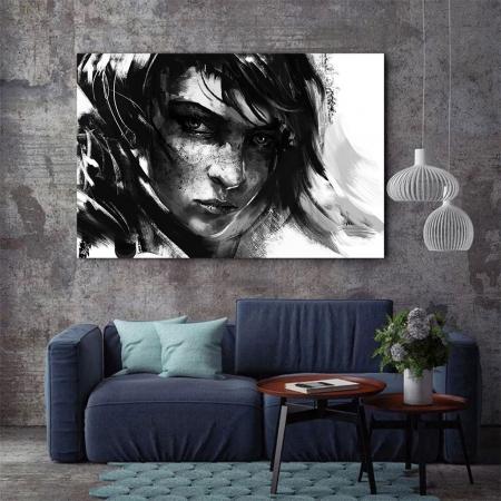 Tablou Canvas - Black mood2