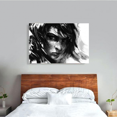 Tablou Canvas - Black mood3