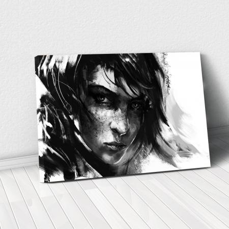 Tablou Canvas - Black mood0