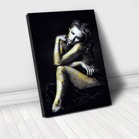 Tablou Canvas - Golden beauty [0]